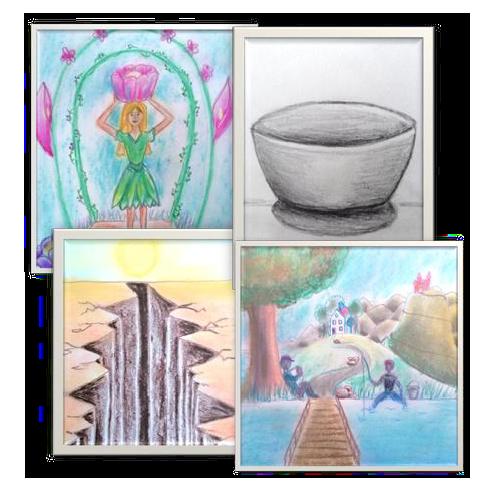 online perspectief tekenles pakket voor beginners en gevorderden
