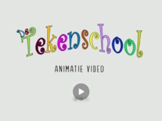 Klik op de afbeelding om een YouTube video te bekijken over De Tekenschool.